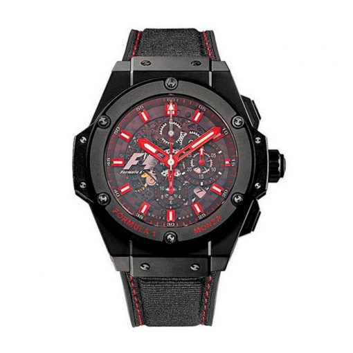 Hublot King Power Formula 1 Monza Limited Edition Ceramic Men's Watch, preowned.710.CI.0110.RX.MZA10