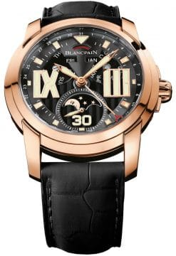 Blancpain L-Evolution Automatic 18K Rose Gold Men's Watch preowned.8866-3630-53b