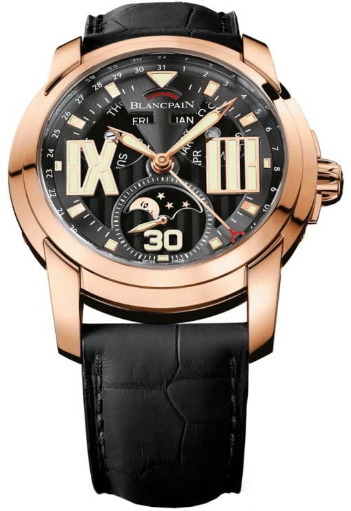 Blancpain L-Evolution Automatic 18K Rose Gold Men's Watch, preowned.8866-3630-53b