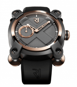 Romain Jerome Moon-DNA Moon Invader Eminence Grise PVD-Coated Steel & 18K Rose gold… preowned.RJ.M.AU.IN.002.01
