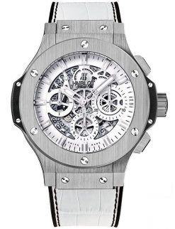 Hublot Aero Bang Garmisch Limited Edition Stainless Steel Unisex Watch preowned.311.SX.2010.GR.GAP10