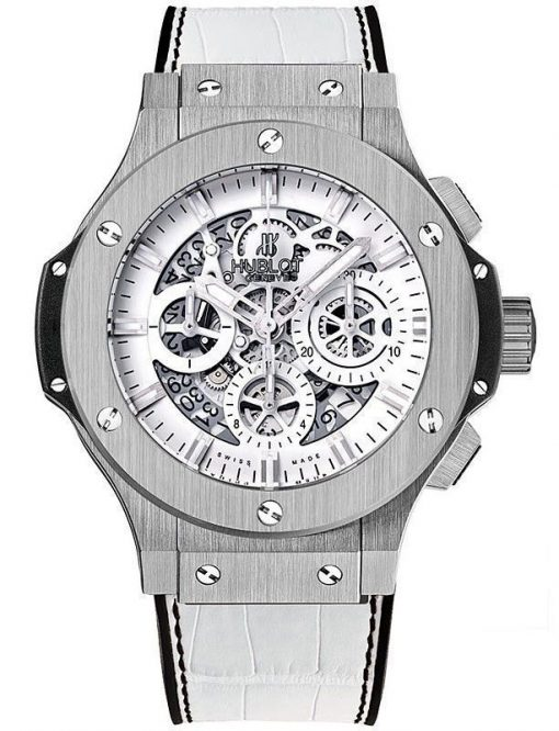 Hublot Aero Bang Garmisch Limited Edition Stainless Steel Unisex Watch, preowned.311.SX.2010.GR.GAP10