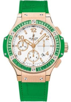 Hublot Big Bang 41 mm Tutti Frutti Apple 18K Rose Gold Unisex Watch preowned-341.PG.2010.LR.1922