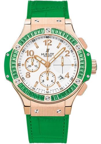 Hublot Big Bang 41 mm Tutti Frutti Apple 18K Rose Gold Unisex Watch, preowned.341.PG.2010.LR.1922