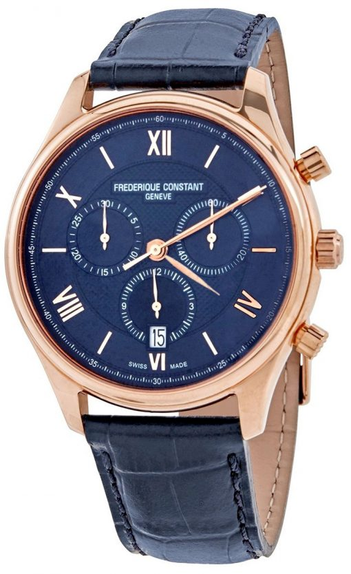 Frederique Constant Classics Chronograph Quartz Men's Watch, FC-292MN5B4