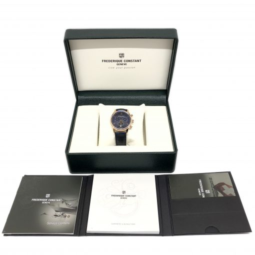 Frederique Constant Classics Chronograph Quartz Men's Watch, FC-292MN5B4 5