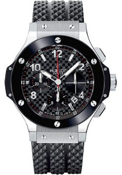 Hublot Big Bang Stainless Steel Сeramic Automatic Rubber Men's Watch, 341.SB.131.RX 341.SB.131.RX