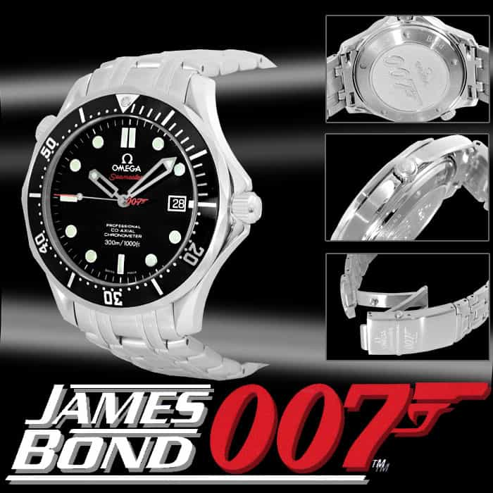 "Seamaster ""James Bond"" Limited Edition Watch by Omega"