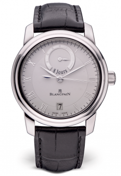Blancpain Le Brassus 8 Jours Limited Edition Platinum Men's Watch preowned.4213-3442-55B