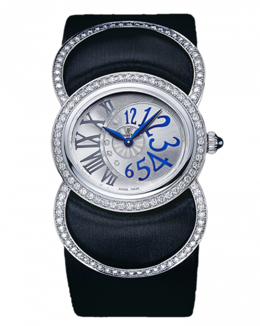 Audemars Piguet Millenary Precieuse 18K White Gold  & Diamonds Ladies Watch, preowned.77226BC.ZZ.A007SU.01
