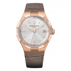 Vacheron Constantin Overseas 18K Rose Gold & Diamonds Ladies Watch preowned.47560/000R-9672