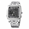 Ulysse Nardin Quadrato Dual Time 18K White Gold & Stainless Steel Men's Watch, Preowned.320-90-8M/69 1