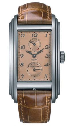 Patek Philippe Grand Complications 10 Day Tourbillon Platinum Men's Watch preowned.5101P-001