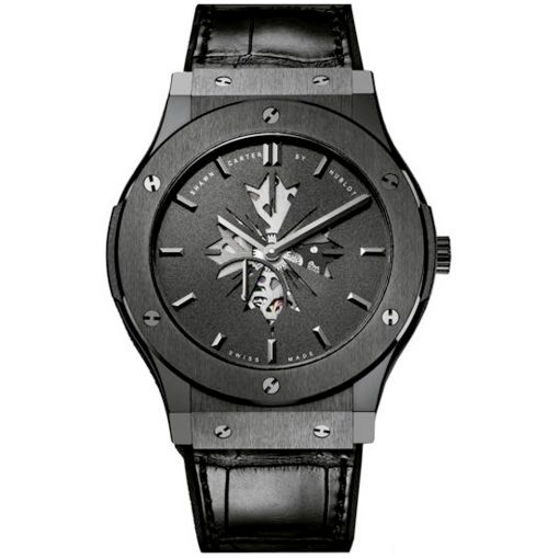 Hublot Classic Fusion Shawn Carter Black Dial Men's Watch, pre.owned 515.CM.1040.LR