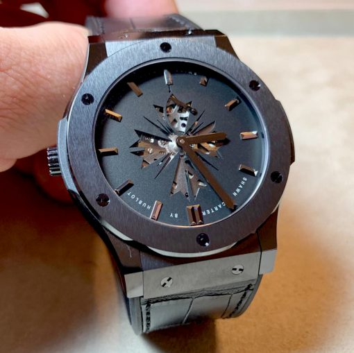 Hublot Classic Fusion Shawn Carter Black Dial Men's Watch, pre.owned 515.CM.1040.LR 2