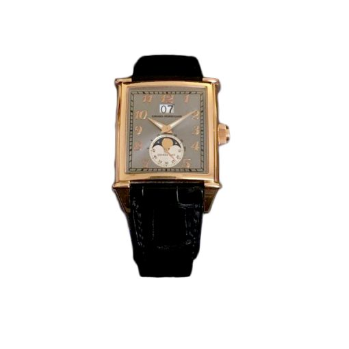 Girard Perregaux Big Date Moon Phase 18K Rose Gold Watch, preowned.2580 GP
