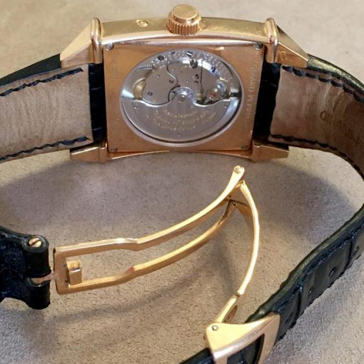 Girard Perregaux Big Date Moon Phase 18K Rose Gold Watch, preowned.2580 GP 4