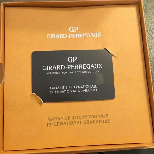 Girard Perregaux Big Date Moon Phase 18K Rose Gold Watch, preowned.2580 GP 6