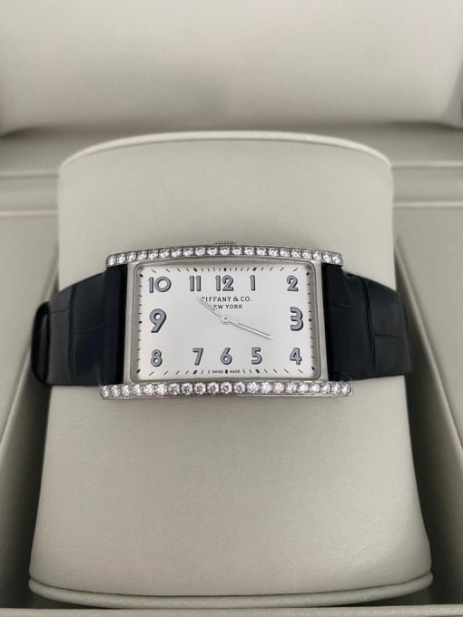 Tiffany East West Mini 2-Hand 37 x 22 mm Watch, preowned.60558078 3