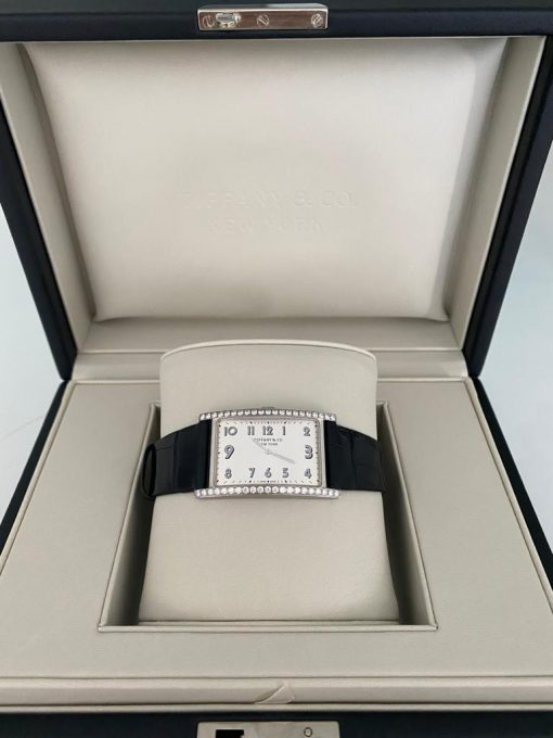 Tiffany East West Mini 2-Hand 37 x 22 mm Watch, preowned.60558078 4