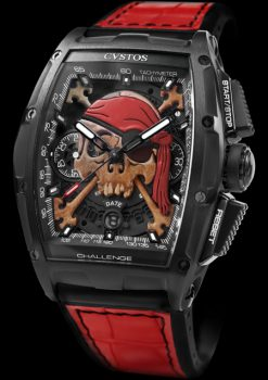 CVSTOS CHALLENGE CHRONO II INKVADERS PIRATE LIMITED EDITION CHALLENGE-CHRONO-II-INKVADERS-PIRATE-LIMITED-EDITIION