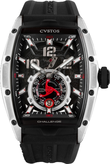 Cvstos GT Jetliner P-S Men's Watch, Black Titanium Black Movement, Cvstos-GT-Jetliner-P-S-Watch-Titanium-Black-Movement