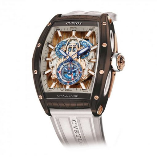 Cvstos Challenge Sealiner GMT Brown Sea Limited Edition Men's Watch, CHALLENGE-SEALINER-GMT-BROWN-SEA-LIMITED-EDITION