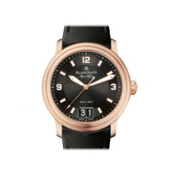 Blancpain Leman Grande Date Automatic 18K Rose Gold Men's Watch preowned.2850B-3630A-64B