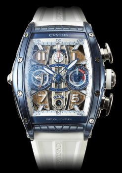 Cvstos Challenge Sealiner Limited Edition YC Portofino Chronograph Men's Watch, Blue Steel Titanium Cvstos-Challenge-Sealiner-Limited-Edition-YC-Portofino-Chronograph
