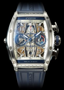 Cvstos Challenge Sealiner Limited Edition YC Portofino Chronograph Men's Watch, Blue Steel Titanium Cvstos-Challenge-Sealiner-Limited-Edition-YC-Portofino-Chronograph-1