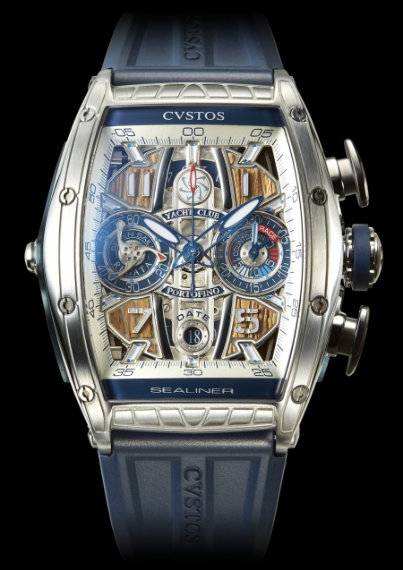 Cvstos Challenge Sealiner Limited Edition YC Portofino Chronograph Men's Watch, Blue Steel Titanium, Cvstos-Challenge-Sealiner-Limited-Edition-YC-Portofino-Chronograph-1