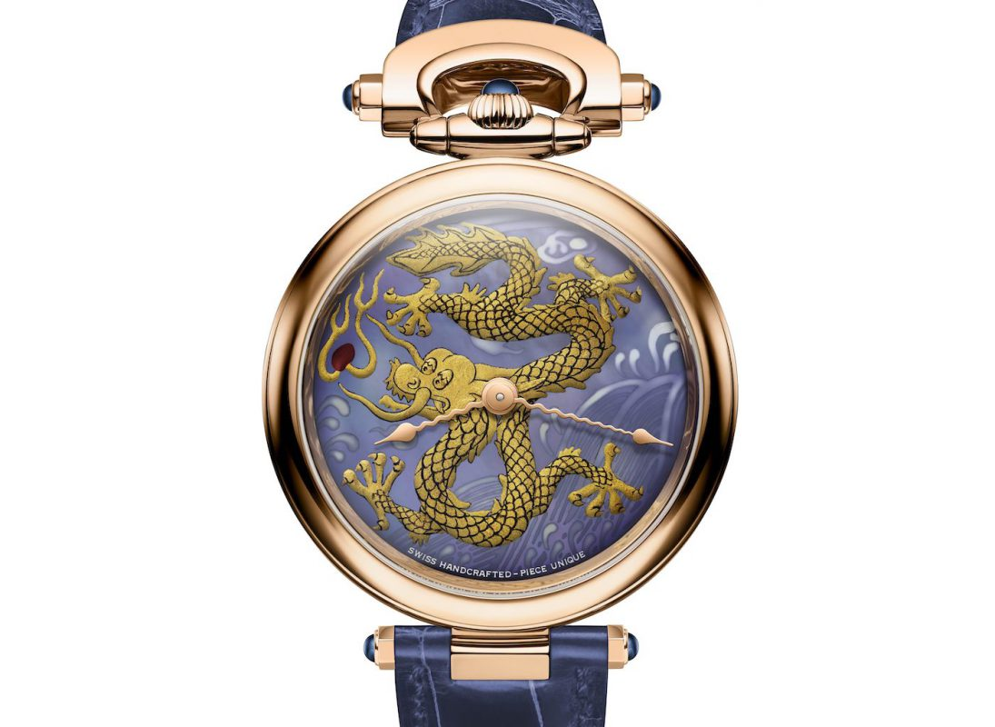 Bovet Amadeo Fleurier Watch with Chinese Dragon Dials