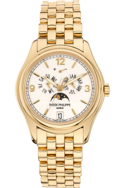 Patek Philippe Complicated Perpetual Calendar 18K Yellow Gold Unisex Watch Preowned-5146/1J-001
