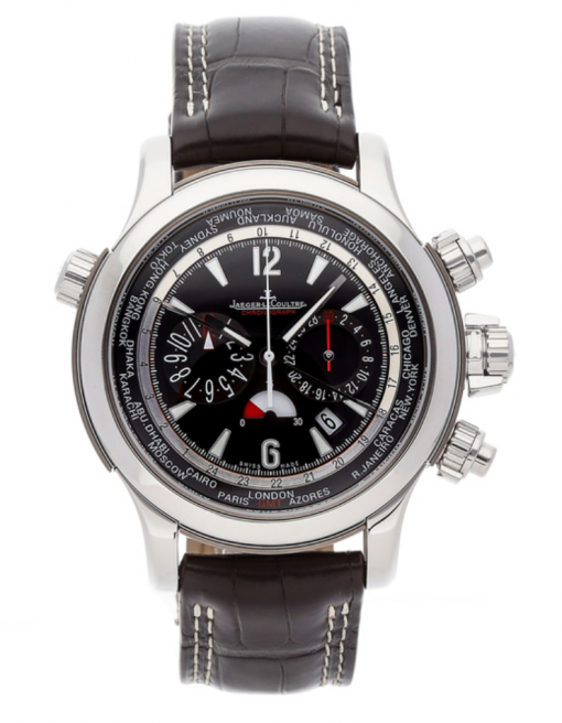 Jaeger LeCoultre Master Compressor Extreme World Chronograph Stainless Steel Men's Watch, preowned.Q1768470