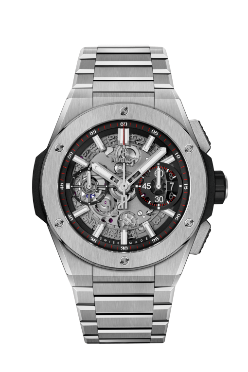 Hublot Big Bang Unico Integral Titanium Men`s Watch, 451.NX.1170.NX