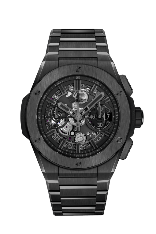 Hublot Big Bang Unico Integral All Black Men's Watch, 451.CX.1140.CX