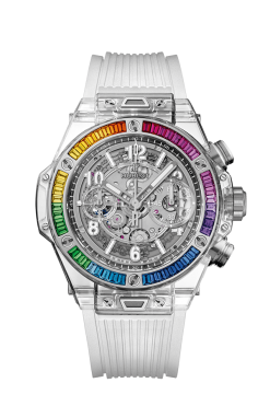 Hublot Big Bang Unico Sapphire Rainbow Limited Edition Watch 441.JX.4802.RT.4099