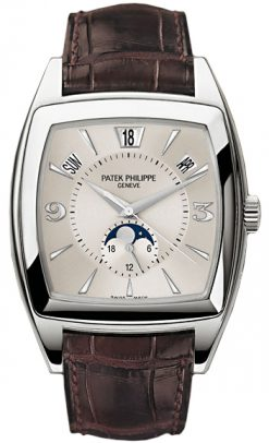Patek Philippe Annual Calendar 18K White Gold Men's Watch preowned.5135G-001