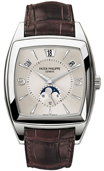 Patek Philippe Annual Calendar 18K White Gold Men's Watch, preowned.5135G-001