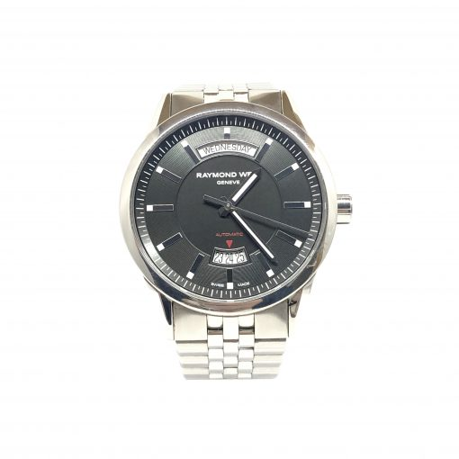 Raymond Weil Freelancer Automatic Day Date Man's Watch, Pre-owned.2720-ST-20001