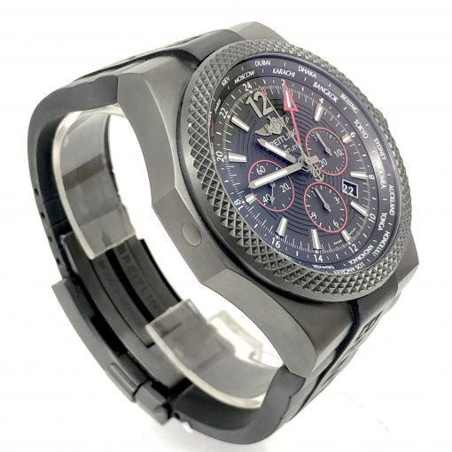 Breitling Bentley GMT Light Body Chronograph Automatic Black Dial Men's Watch, pre-owned.VB043222-BD69 3