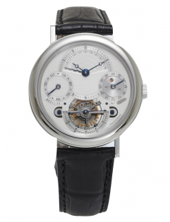 Breguet Tourbillon Perpetual Calendar Platinum Men's Watch Preowned.3757pt/1e/9v6