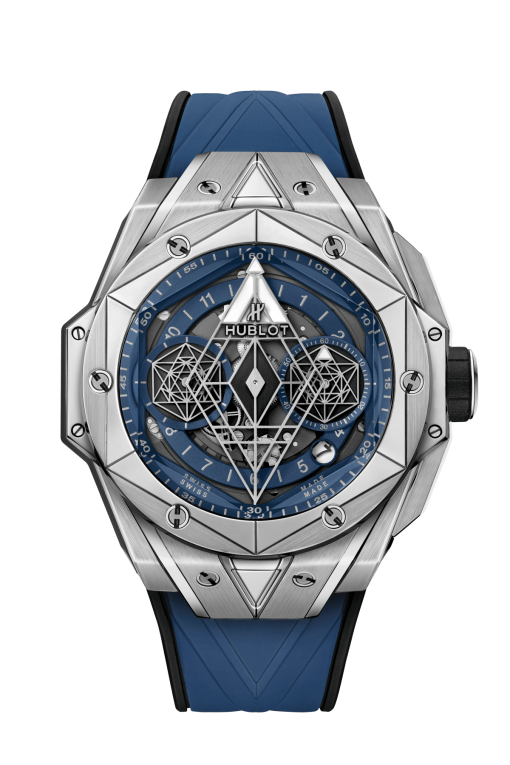 Hublot Big Bang Sang Bleu II Titanium Blue Limited Edition Men's Watch, 418.NX.5107.RX.MXM20