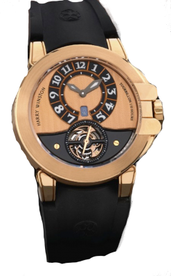 Harry Winston Project Z3 Tourbillon 18K Rose Gold Limited Edition Men's Watch Preowned.400 / MAT44RK