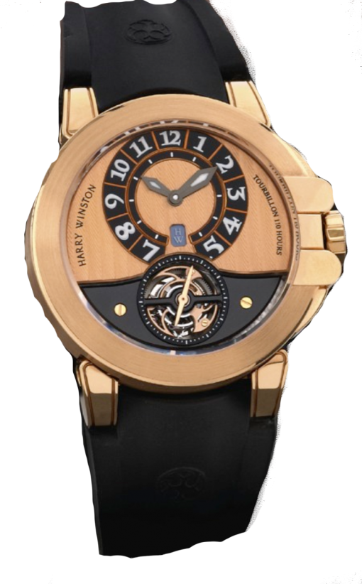 Harry Winston Project Z3 Tourbillon 18K Rose Gold Limited Edition Men's Watch, Preowned.400 / MAT44RK