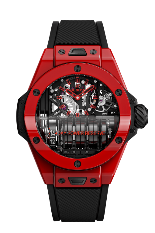 Hublot Big Bang MP-11 Power Reserve 14 Days Red Magic Limited Edition Men's Watch, 911.CF.0113.RX