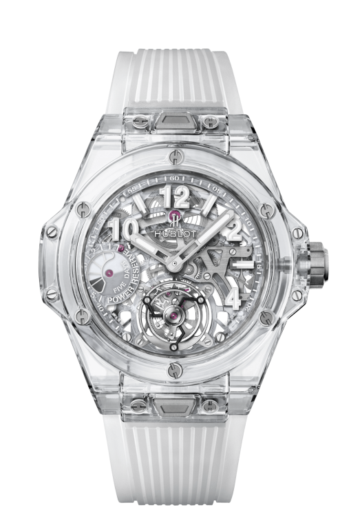 Hublot Big Bang Tourbillon Power Reserve 5 Days Sapphire Limited Edition Watch, 405.JX.0120.RT
