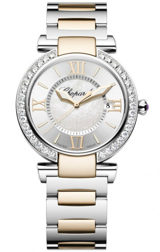 Chopard Imperiale 18K Rose Gold, Stainless Steel, Diamonds & Amethyst Ladies Watch, Pre.owned_388532-6004