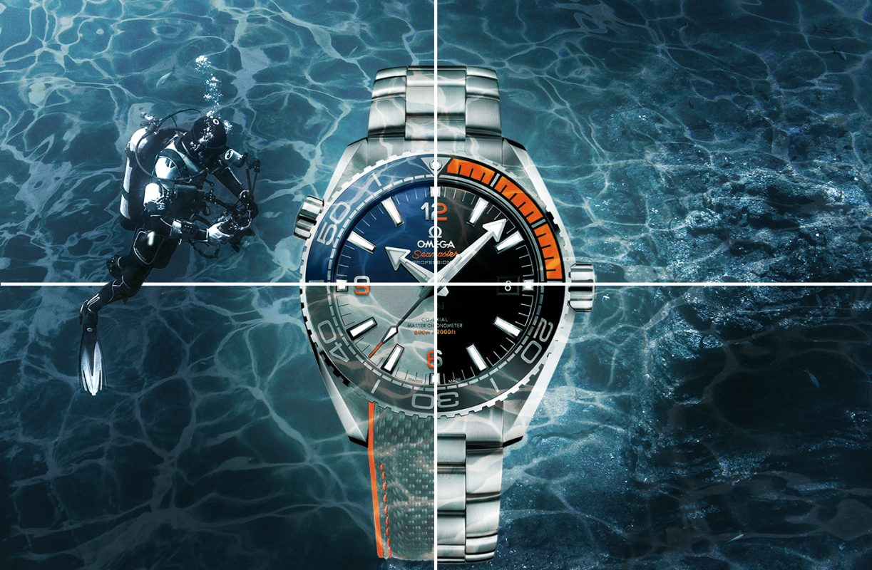 Iconic Omega's Model Planet Ocean Dive Watch