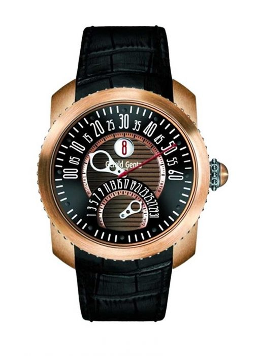Gerald Genta Gefica Bi-Retro Safari Bronze by BVLGARI Men`s Watch, Pre.owned_GBS.Y.98.331.CN.BD